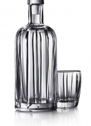 Absolut Vodka Crystal Pinstripe Bottle