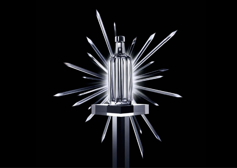 Absolut Launches Limited Edition Crystal Pinstripe Bottle