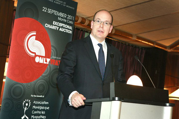 Albert II, Prince of Monaco at Only Watch 2011 Charity Auction