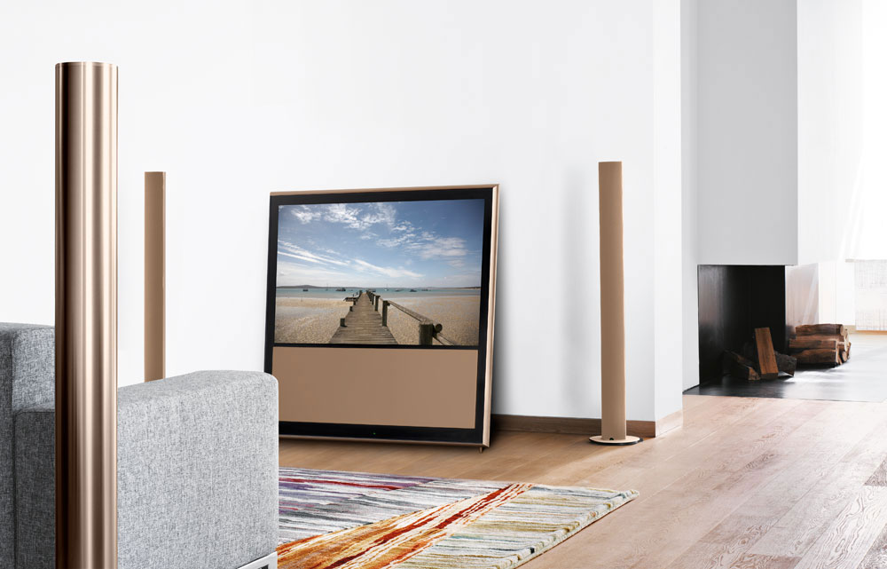 limited edition bang olufsen beovision 10 46 chanterelle. Black Bedroom Furniture Sets. Home Design Ideas