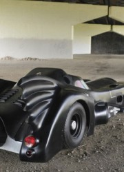 World's only jet turbine powered Batmobile