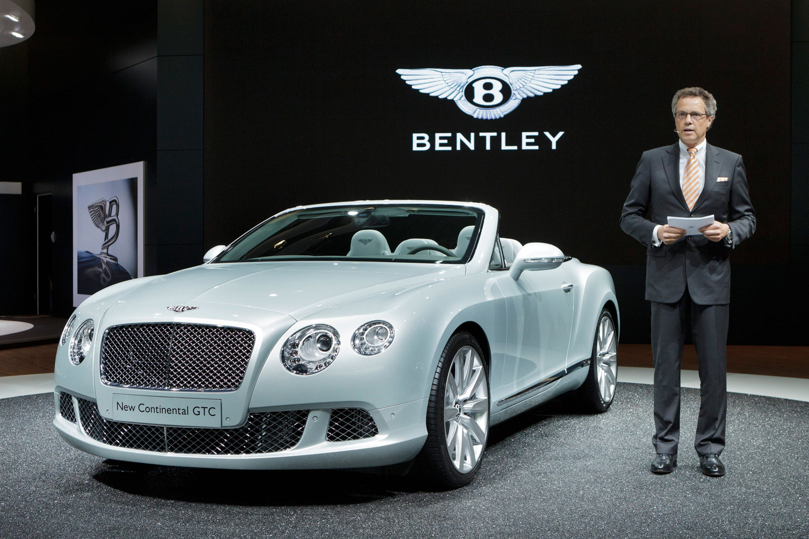 Bentley Continental Gtc Debuted At Frankfurt Motor Show