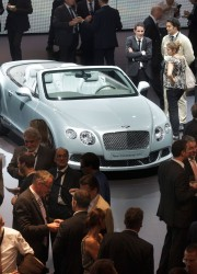 Bentley Continental GTC at Frankfurt Motor Show