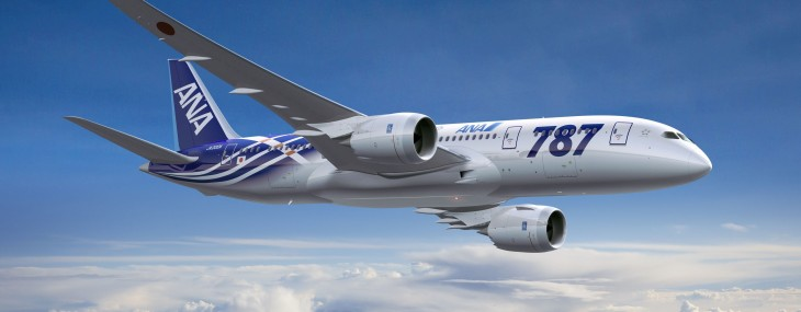 First Boeing 787 Dreamliner to be Delivered to All Nippon Airways