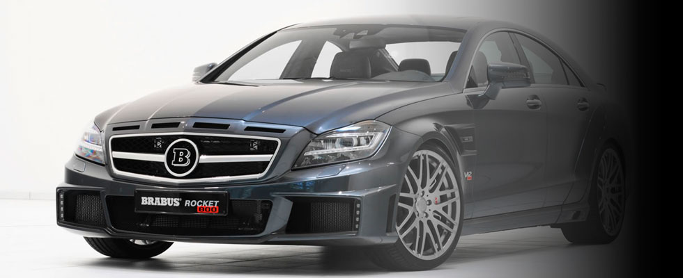 Brabus Rocket 800 – The World's Fastest Street Legal Sedan
