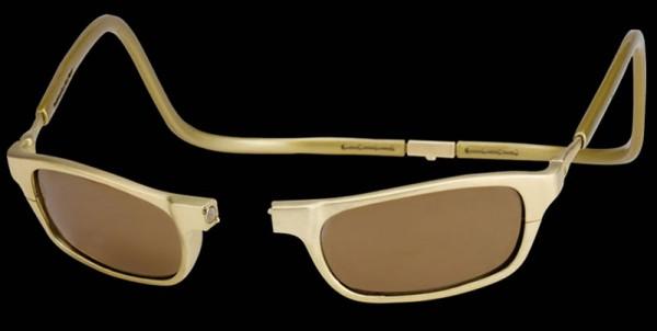Clic Gold's 18-carat Gold Eyeglasses