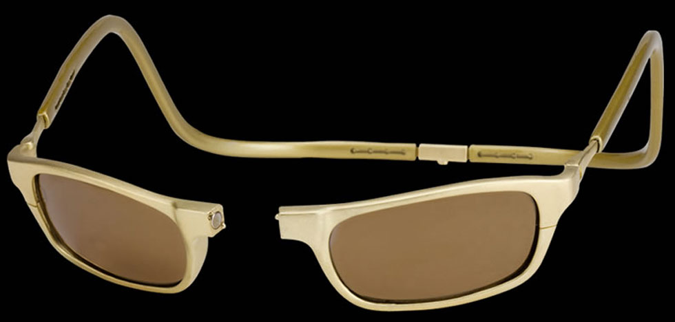 $75,000 Clic Gold – World's Most Expensive Eyeglasses