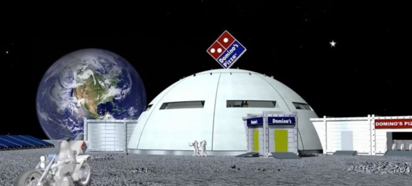 Moon Branch - Domino's Pizza Restaurant on the Moon