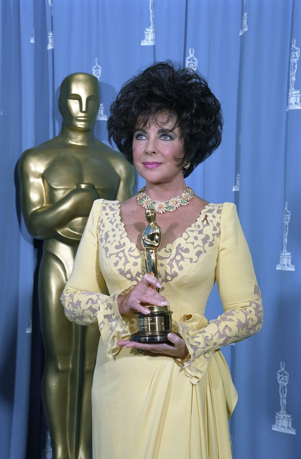 Elizabeth Taylor received Jean Hersholt Humanitarian Awards