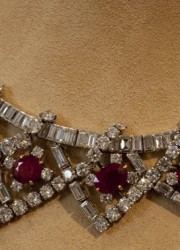 Elizabeth Taylor's ruby and diamond necklace