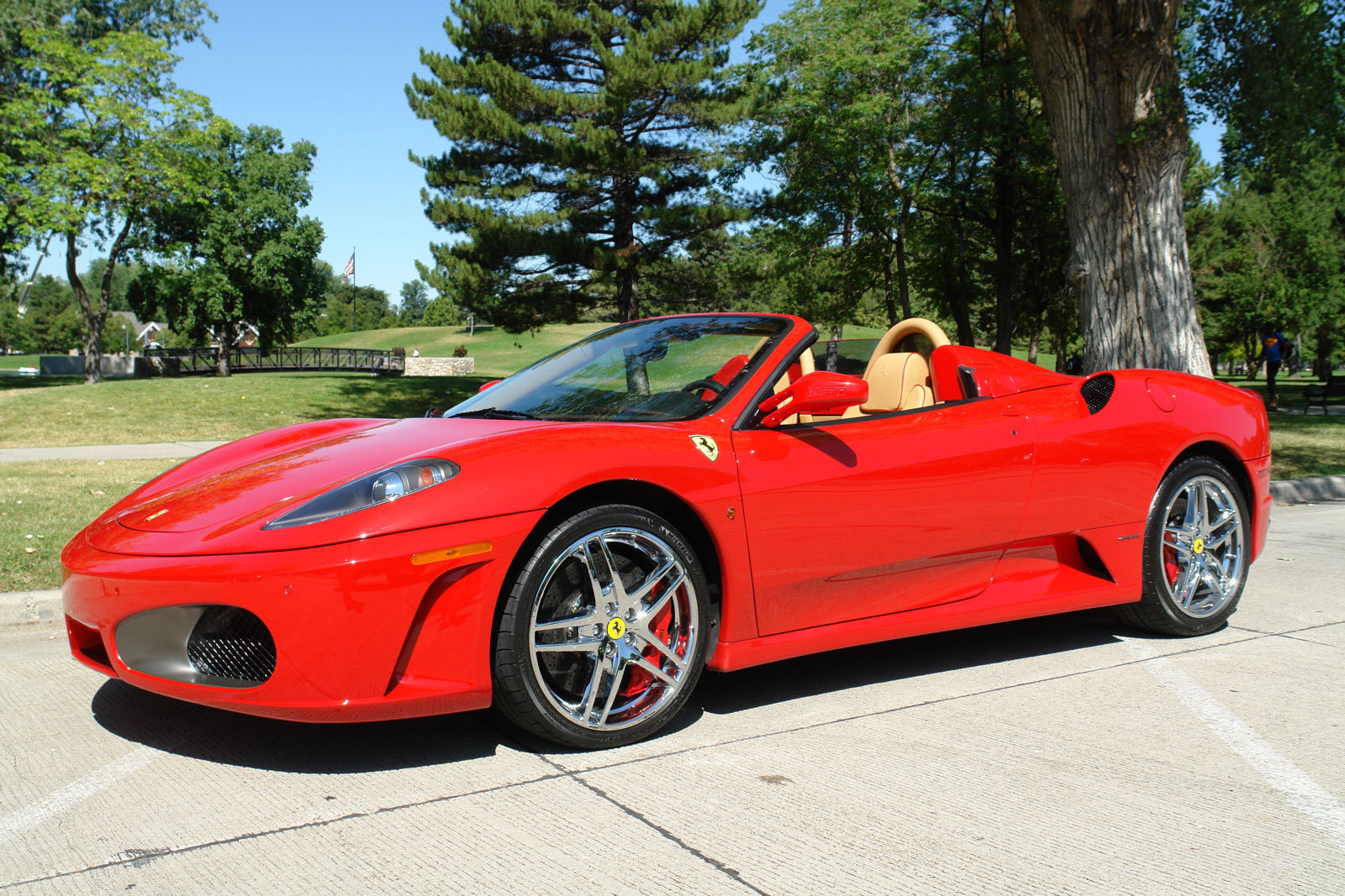 ferrari 430 spider f1 the most expensive item on ebay. Black Bedroom Furniture Sets. Home Design Ideas