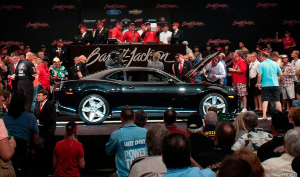 First Chevrolet Camaro ZL1 sold at Barrett Jackson auction for $250,000