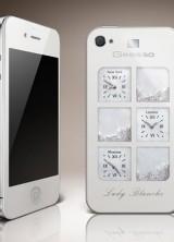 Gresso ArtPhone Lady Blanche with Diamonds and Swarovski Crystals