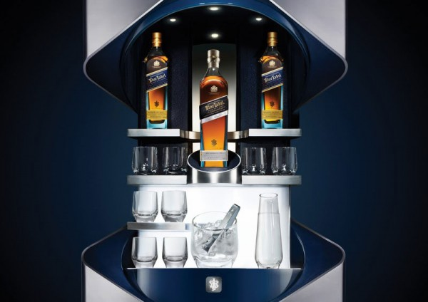 Johnnie Walker Blue Label Private Bar