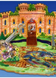 Limited Edition Knight at Stavely Castle Puzzle with 3D Elements