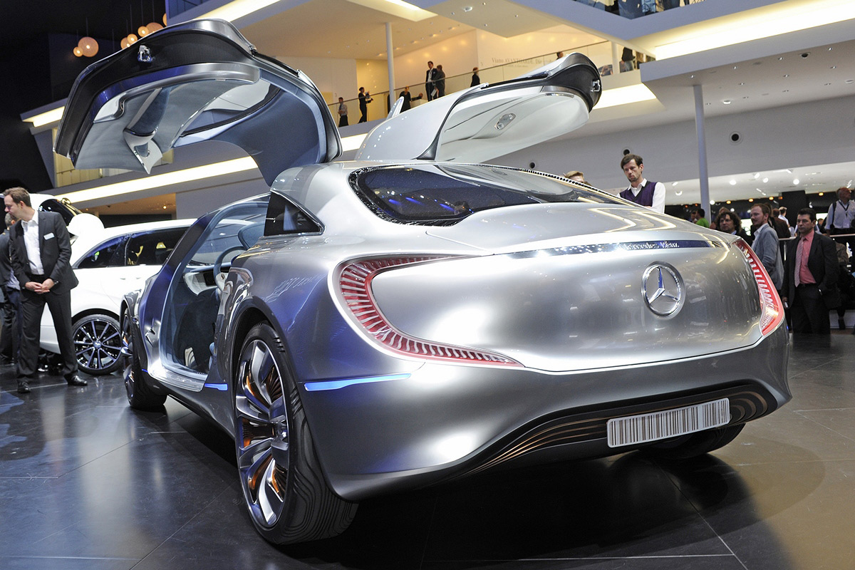 Mercedes-Benz F125 Concept at Frankfurt Motor Show