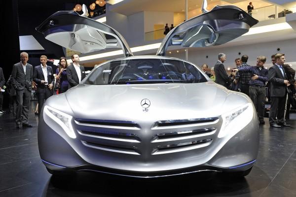Mercedes-Benz F125 Concept at Frankfurt Motor Show