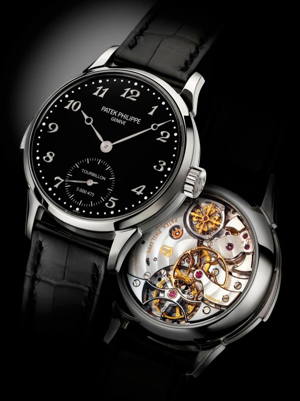 Patek Philippe Ref. 3939 manual winding minute repeater with tourbillon in stainless steel