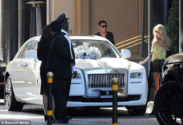 Petra Ecclestone's Post-Wedding Gift: Rolls Royce Ghost