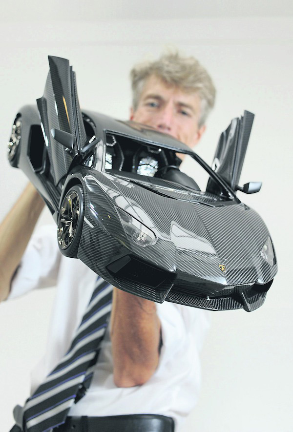 The World&#8217;s Most Expensive Car Model &#8211; $4.7 Million 1:8 Replica Lamborghini Aventador