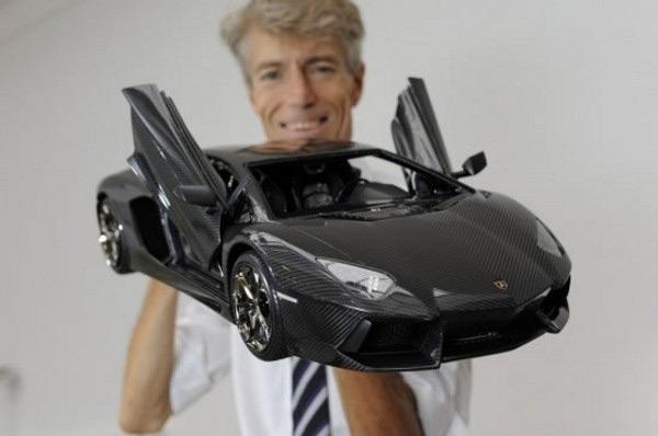 Robert Gulpen's Lamborghini Aventador LP 700-4 Model Car