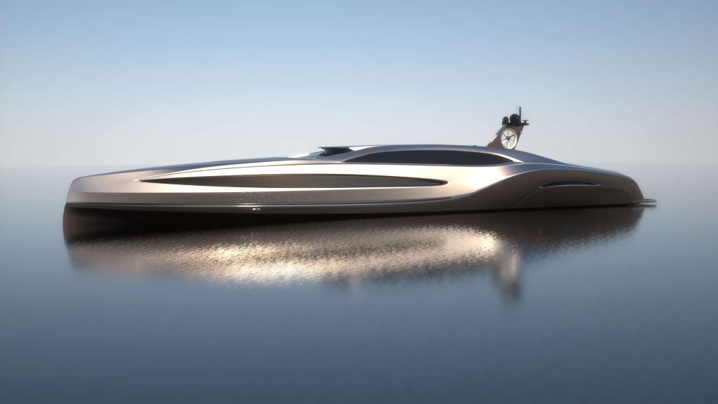 An uncompromising superyacht sovereign yacht by gray for Yacht dekoration