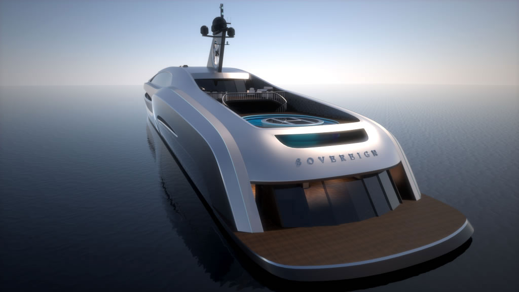 an uncompromising superyacht sovereign yacht by gray design