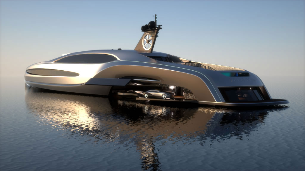 An Uncompromising Superyacht Sovereign Yacht By Gray