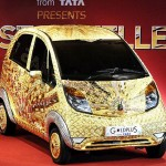 Tata Nano Car Made with Gold, Silver and Precious Stones