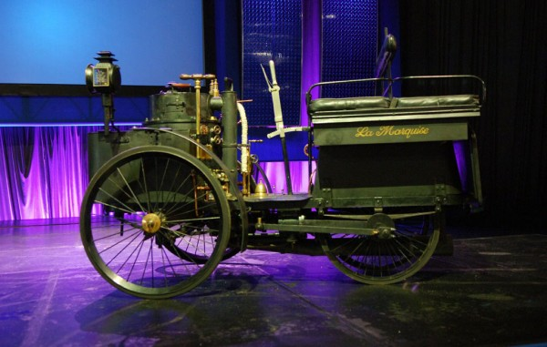 The Oldest Running Car in the World - 1884 De Dion Bouton et Trepardoux Dos-a-Dos Steam Runabout