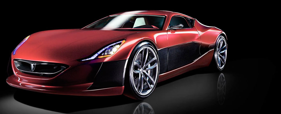 1,088 hp Concept_One Electric Supercar at Frankfurt Motor Show