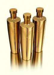 Vallure Vodka in Pure Gold Bottle
