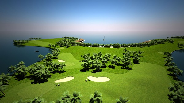 Floating Golf Course to be Built in Maldives