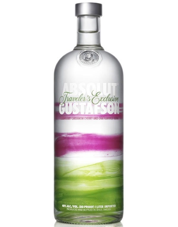 Limited Edition Absolut Gustafson Vodka