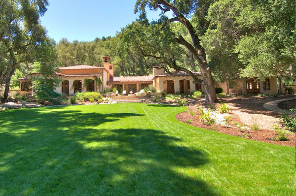 A timeless hacienda located in the Santa Lucia Preserve