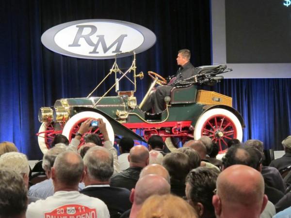1907 Baker Model M Roadster