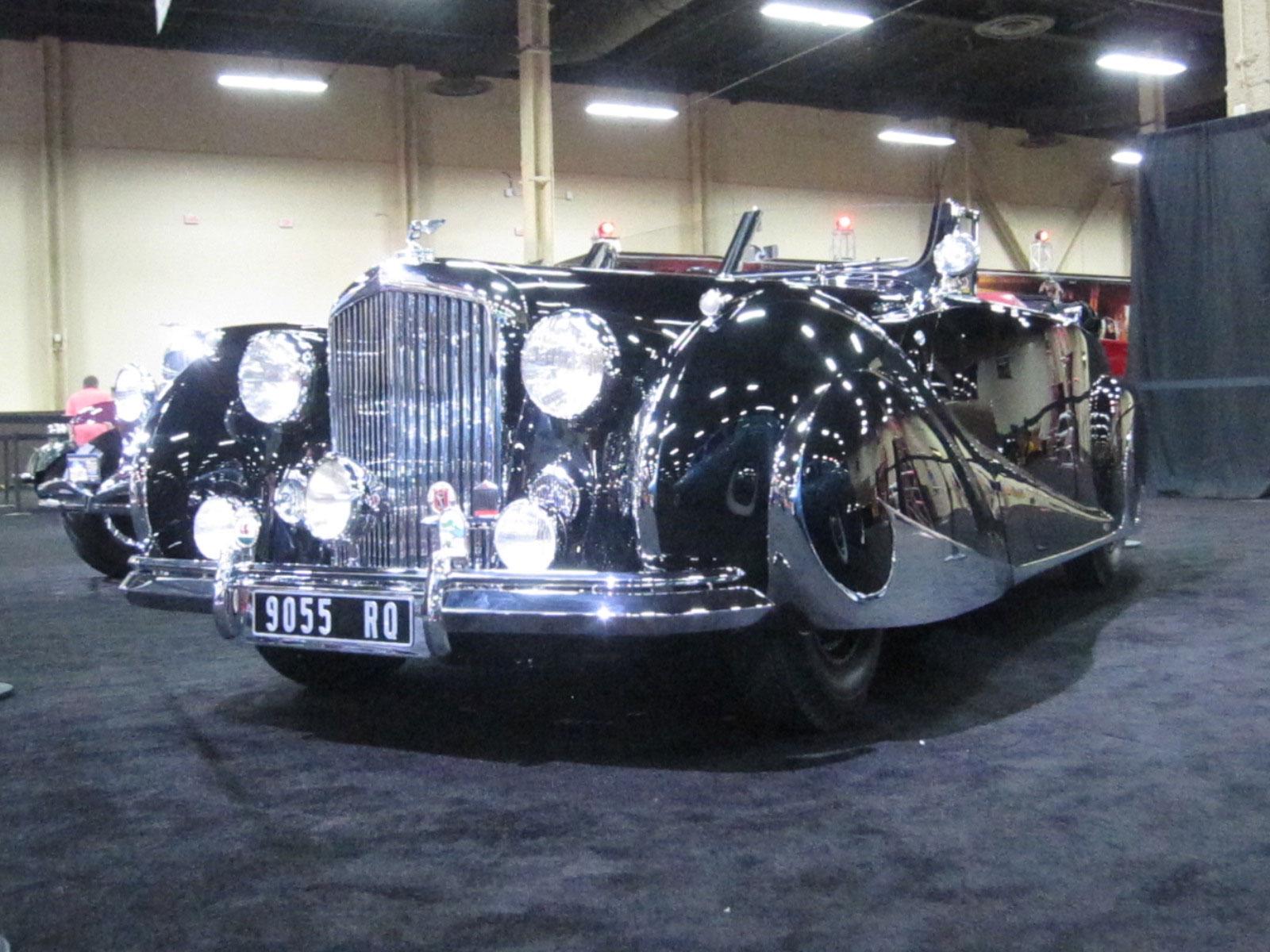 World's Most Expensive Postwar Bentley at Barrett-Jackson