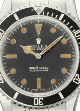 James Bond's Rolex 5513 Worn by Roger Moore For Sale