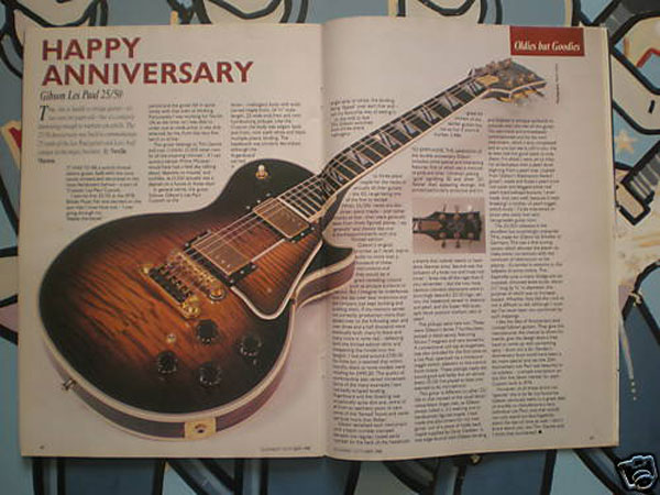 1978 Gibson Les Paul 25/50 Anniversary Model Guitar