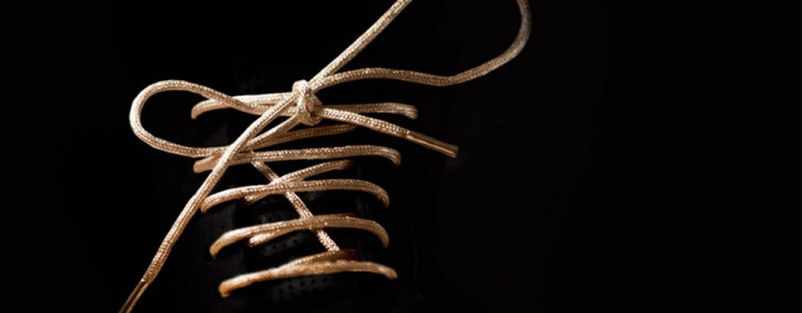 Tie Your Shoes With Gold Laces