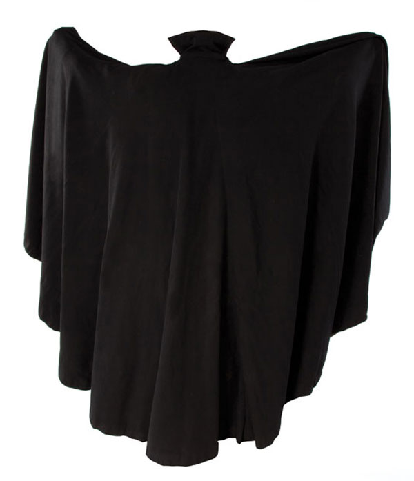 The iconic cape worn by Bela Lugosi in Dracula Movie