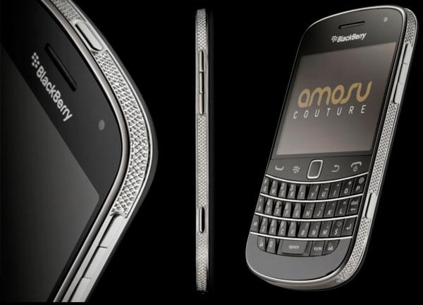 BlackBerry Swarovski Bold 9900 by Amosu Couture