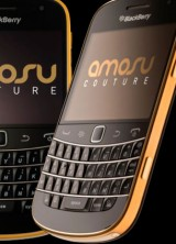 BlackBerry Bold 9900 in 24ct gold by Amosu Couture