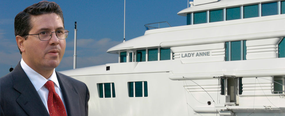Redskins Owner Dan Snyder Buys Lady Anne Yacht for $70 Million