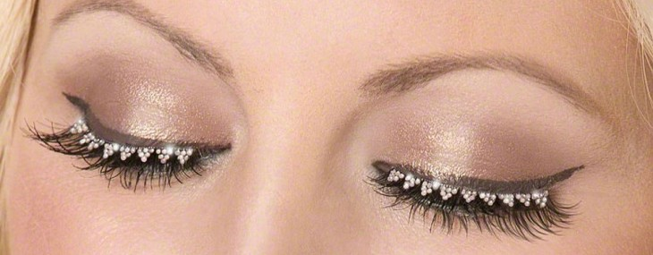 Diamond Eyelashes for Dazzling Look