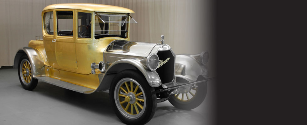 Gold Plated 1920 Pierce-Arrow 48 Coupe