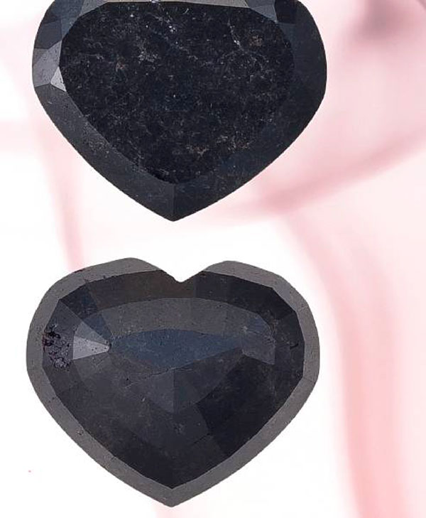 Bonham's to Auction Heart-shaped Black Diamond