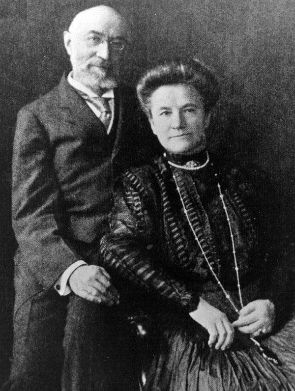 Isidore and Ida Strauss