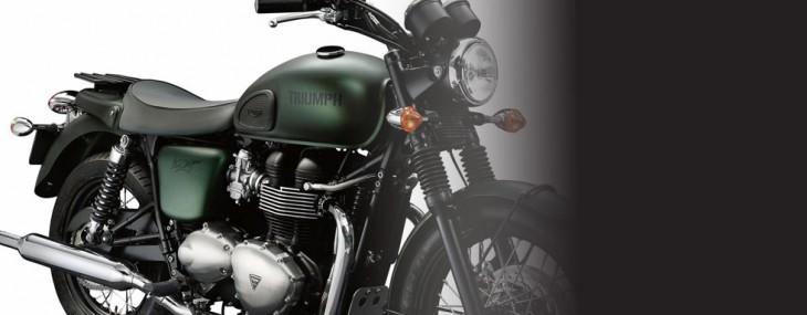Limited Edition Steve McQueen's Triumph Bonneville T100 Bike