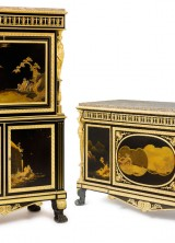 Louis XVI Ormolu-Mounted Japanese Lacquer Commode